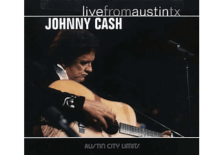 Johnny Cash - Live From Austin, Tx, 03.01.1987 (CD)
