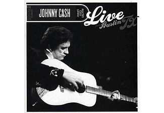 Johnny Cash - Live From Austin, Tx, 1987 (CD + DVD)