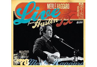Merle Haggard - Live From Austin TX, 1978 (CD + DVD)