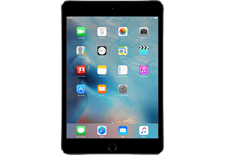 APPLE iPad mini 4 WI-FI, Tablet mit 7.9 Zoll, 128 GB Speicher, iOS 9, Spacegrau