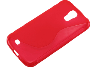 AGM 25994 Backcover Samsung Galaxy S4 Kunststoff Rot