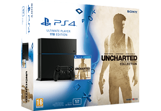 SONY PlayStation 4 (inkl. Uncharted: Nathan Drake Collection) - 1 TB