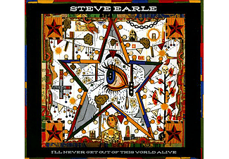 Steve Earle - I'll Never Get Out Of This World Alive (CD + DVD)