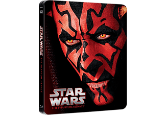 Star Wars: Ep. I - Phantom Menace Limited Editiion Steelbook Science Fiction Blu-ray