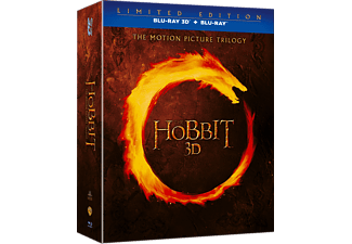 The Hobbit: The Motion Picture Trilogy Äventyr Blu-ray 3D