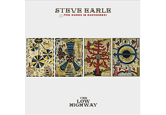 Steve Earle & The Dukes (& Duchesses) - The Low Highway (CD + DVD)