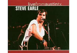 Steve Earle - Live From Austin, Tx, 12.09.1986 (CD)