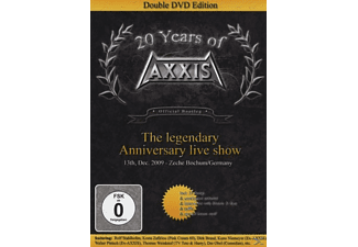 Axxis - 20 Years Of Axxis - The Legendary Anniversary Live Show - (DVD)