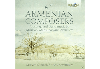 Mariam Sarkissian, Artur Avanesov - Art Songs And Piano Music [CD]