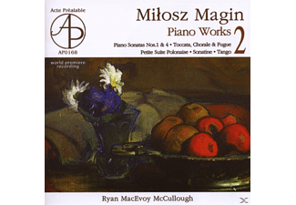 Ryan Mcevoy Mccullough - PIANO WORKS 2 - (CD)