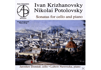 Jaroslaw Domzal, Lubow Nawrocka - Cellosonaten - (CD)