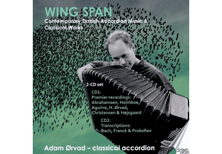 Adam Örvad - Wing Span - (CD)
