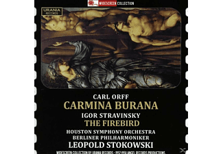 Berliner Philharm Houston Sy Orch., Stokowski/Berliner Philharmoniker/Houston SO/+ - Stokowski dirigiert Orff und Strawinsky - (CD)