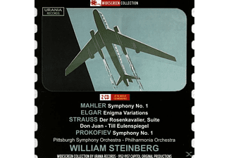Philh Pittsburg Symphony Orchestra, Steinberg/Philharmonia Orch./Pittsburgh SO - William Steinberg dirigiert - (CD)