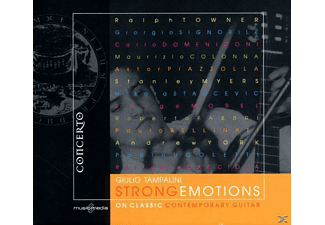 TAMPALINI,GIULIO & WOODFIELD,PHILIP - Strong Emotions On Classic Contempo - (CD)
