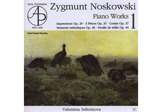 Valentina: Piano Seferinova - NOSKOWSKI: PIANO WORKS - VOL.1 - (CD)