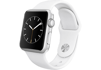 APPLE Watch Sport 38 mm - Silver Aluminium/White