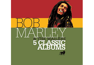 Bob Marley & The Wailers - 5 Classic Albums [CD]