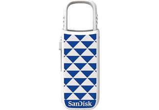 SAN DISK Cruzer U 16GB Blue Triangles - (SDCZ59-016G-B35BT)