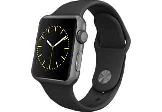 APPLE Watch Sport 38 mm - Space Grey Aluminium/Black