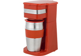 BESTRON ACM111R Coffee-to-go Kaffeemaschine Rot