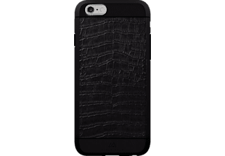 BLACK ROCK Croco iPhone 6, iPhone 6s Handyhülle, Schwarz
