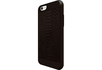 BLACK ROCK Snake, Apple, Backcover, iPhone 6, iPhone 6s, Kunststoff/Echtleder/Polycarbonat (PC)/Thermoplastisches Polyurethan (TPU), Braun
