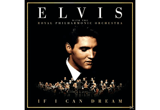 Elvis Presley - If I Can Dream/Bridge Over Troubled Water - (Vinyl)