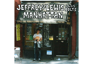 The Bolts, Jeffrey Lewis - Manhattan [CD]
