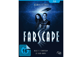 Farscape - Verschollen im All - Staffel 1-5 [Blu-ray]