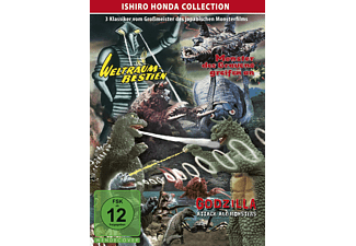 ISHIRO HONDA COLLECTION - GODZILLA/WELTRAUMBESTIEN - (DVD)