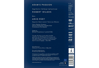 Robert Wilson, Adam´s Passion, Talin Chamber Orchestra, Estoian Philharmonic Chamber Choir - Adam's Passion [DVD]