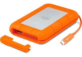 LACIE Rugged Thunderbolt en USB 3.0 250 GB SSD