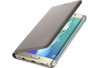 SAMSUNG Flip Wallet Galaxy S6 Edge Plus - Guld