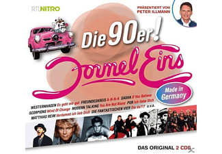 Various - Formel Eins - 90er Made in Germany - (CD)