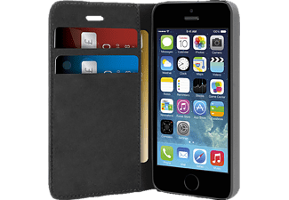 PURO Θήκη Booklet Wallet για το iPhone 5/ 5S - (IPC5BOOKCBLK)