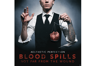 Aesthetic Perfection - Blood Spills Not Far From The Wound [CD]
