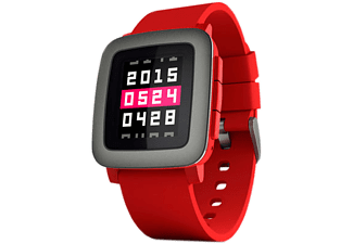 PEBBLE TIME Smartklocka - Röd