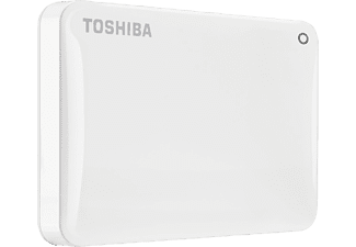 TOSHIBA Canvio Connect II, 3 TB, Weiß, Externe Festplatte, 2.5 Zoll