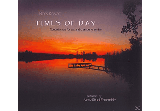 Boris Kovac - Times Of Day - (CD)
