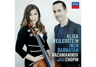 Inon Barnatan, Alisa Weilerstein - Rachmaninov Chopin Cello Sonatas [CD]