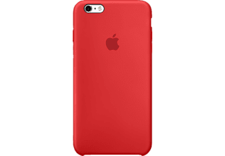 APPLE iPhone 6s Plus Silikon Case, Apple, Backcover, iPhone 6s Plus, Silikon, Rot