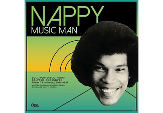 Various - Nappy-Music Man-Funk, Disco & Calypso - (Vinyl)
