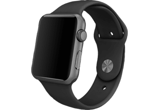 APPLE MJ4N2ZM/A Sportarmband, Apple, Watch (42 mm Gehäuse), Space Grey