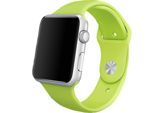 APPLE Watch 42mm zilver aluminium / groen sportbandje