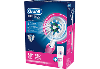 ORAL-B 2500 CrossAction Rosa Eltandborste