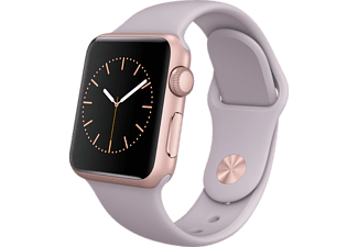 APPLE Watch 38mm rosegoud aluminium / lavendel sportbandje