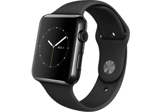 APPLE Watch 42 mm - Black Steel/Black Sport Band