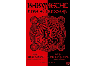 Babymetal - Live At Budokan:Red Night & Black Night - (DVD)