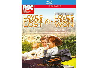 Love's Labour's Lost/Love's Labour's Won - (Blu-ray)